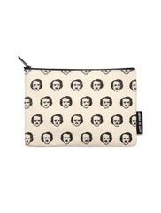 Poe-ka Dot Pencil Pouch in Natural