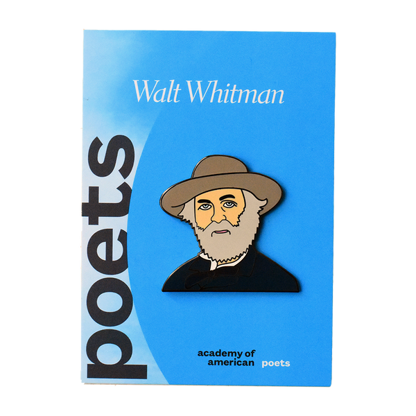 Walt Whitman Enamel Pin