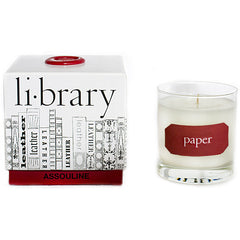"""Paper"" Scented Library Candle"
