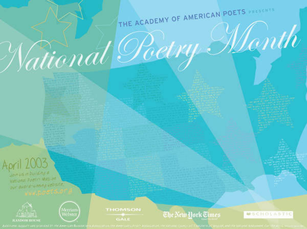 National Poetry Month Poster (2003)