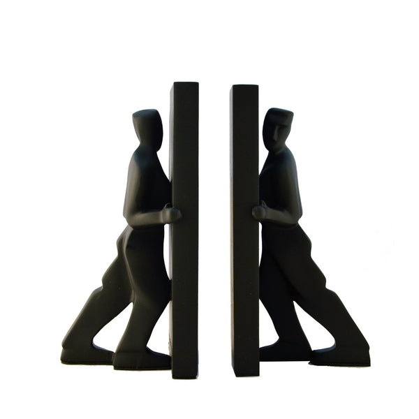 Pair of Pushing Bookends