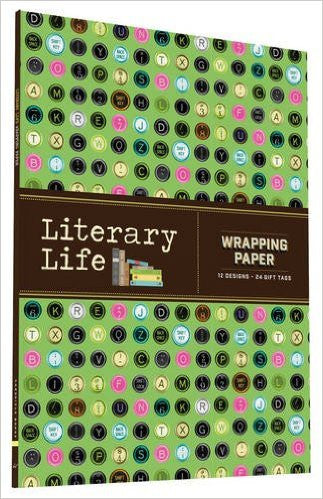 Book Lover's Wrapping Paper