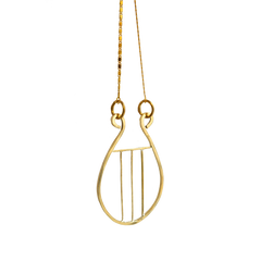 Orpheus's Lyre Necklace