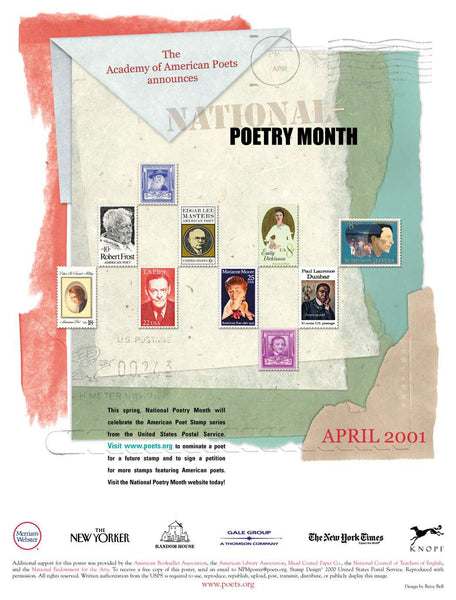 National Poetry Month Poster (2001)