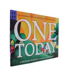 """One Today"" by Richard Blanco, illustrated by Dav Pilkey"