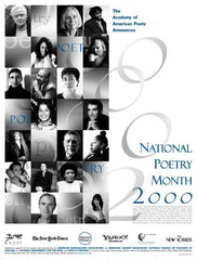 National Poetry Month Poster (2000)