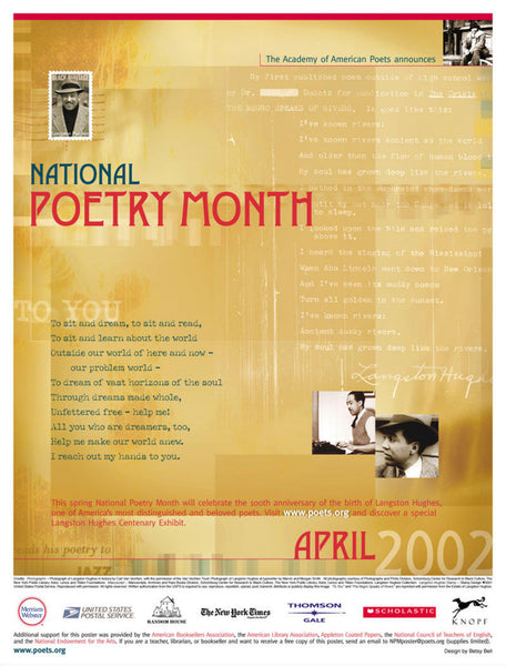 National Poetry Month Poster (2002)