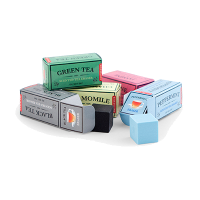 Tea-Scented Erasers (Set of 5)