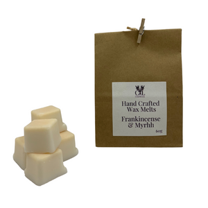 Frankincense and Myrrh Hand Crafted Wax Melts