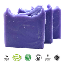 Load image into Gallery viewer, Lavender Natural Handmade Soap Bar