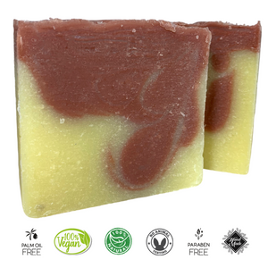 Rose Geranium & Bergamot Soap Bar