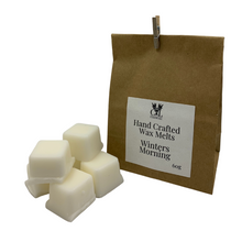 Load image into Gallery viewer, A Winters Morning Hand Crafted Wax Melts