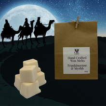 Load image into Gallery viewer, Frankincense and Myrrh Hand Crafted Wax Melts