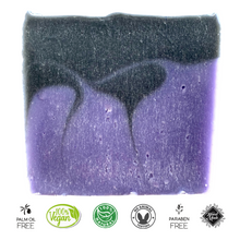 Load image into Gallery viewer, Patchouli and Lavender Soap Bar