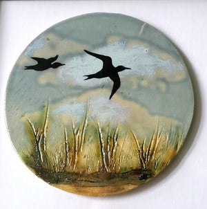 Birds Flying 3 Framed Wall Art