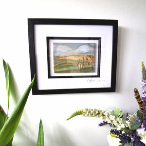 Rolling Hills Framed Wall Art