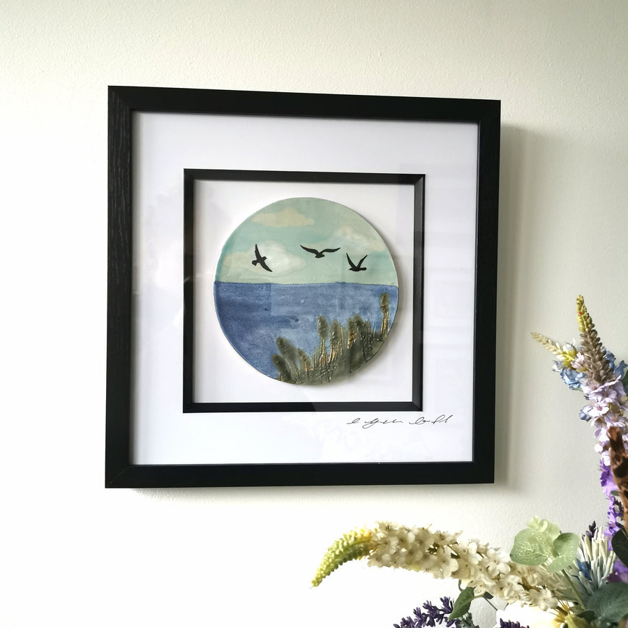 Sea View Framed Wall Art