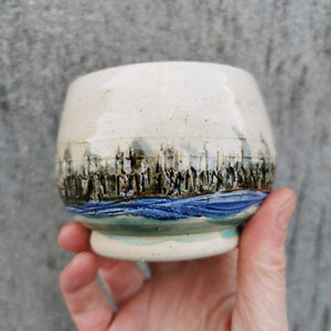 Reeds And River Vessel