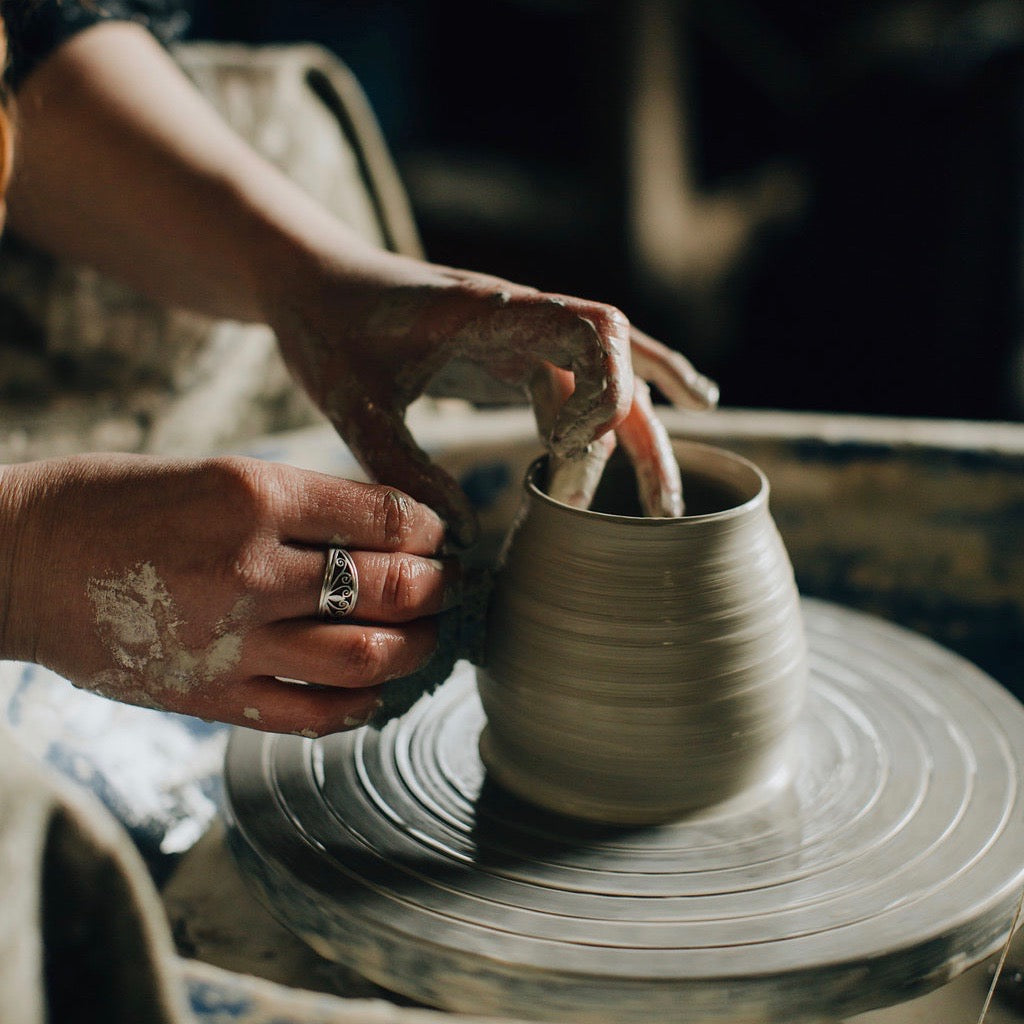 Family Pottery Wheel Session