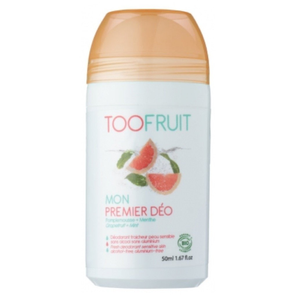 Desodorante Roll-On Pomelo y Menta de Toofruit