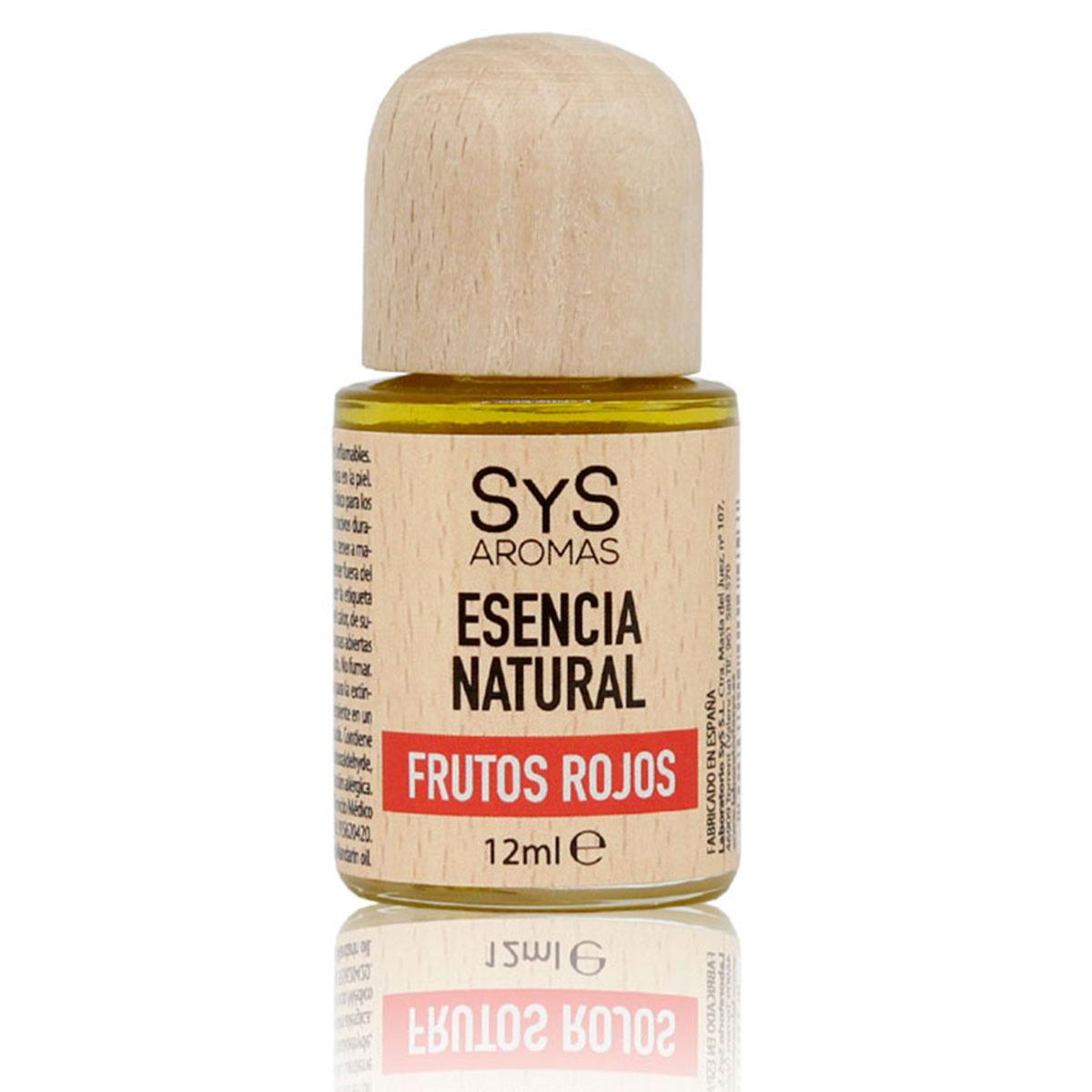 Esencia Natural de Frutos rojos 12ml - SyS