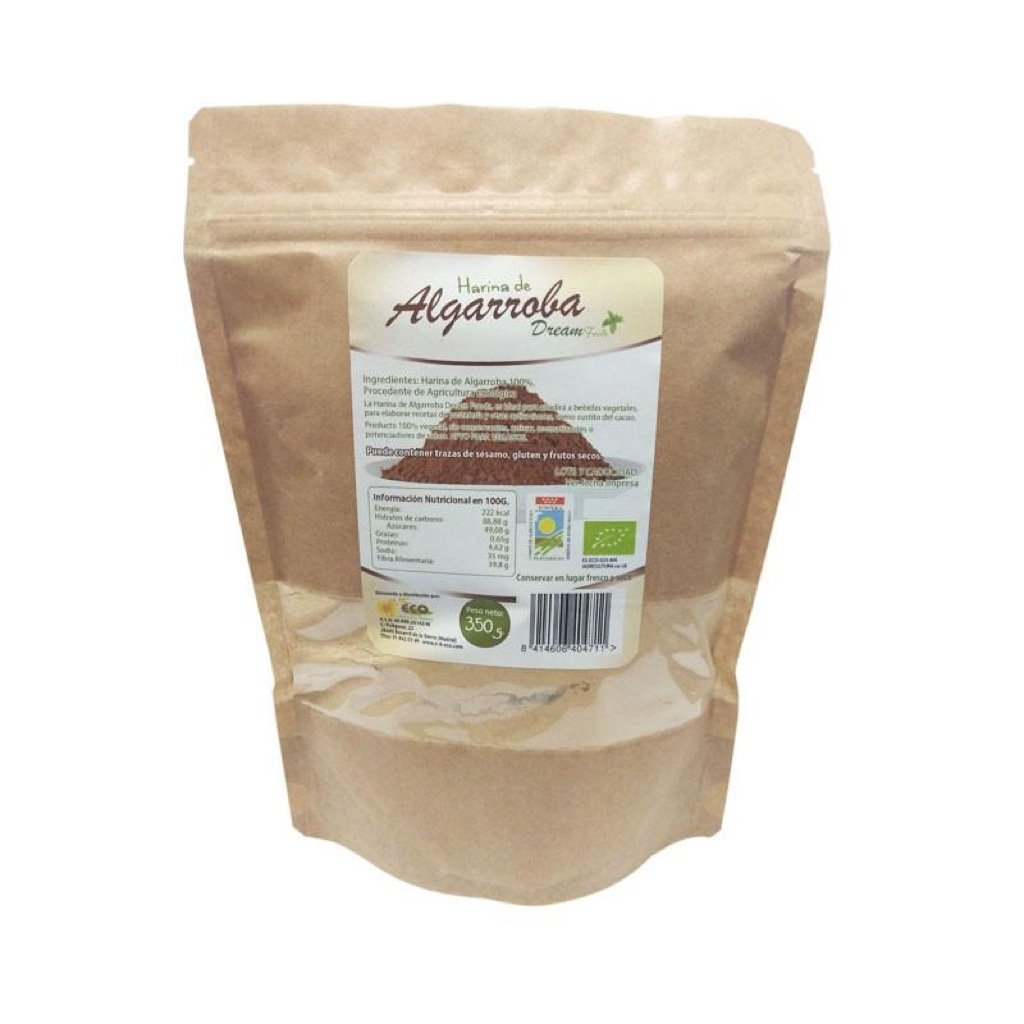 Harina de algarroba bio 350 g Dream Foods