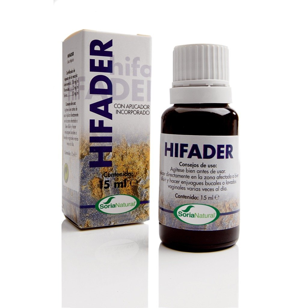 Hifader 15 ml soria natural