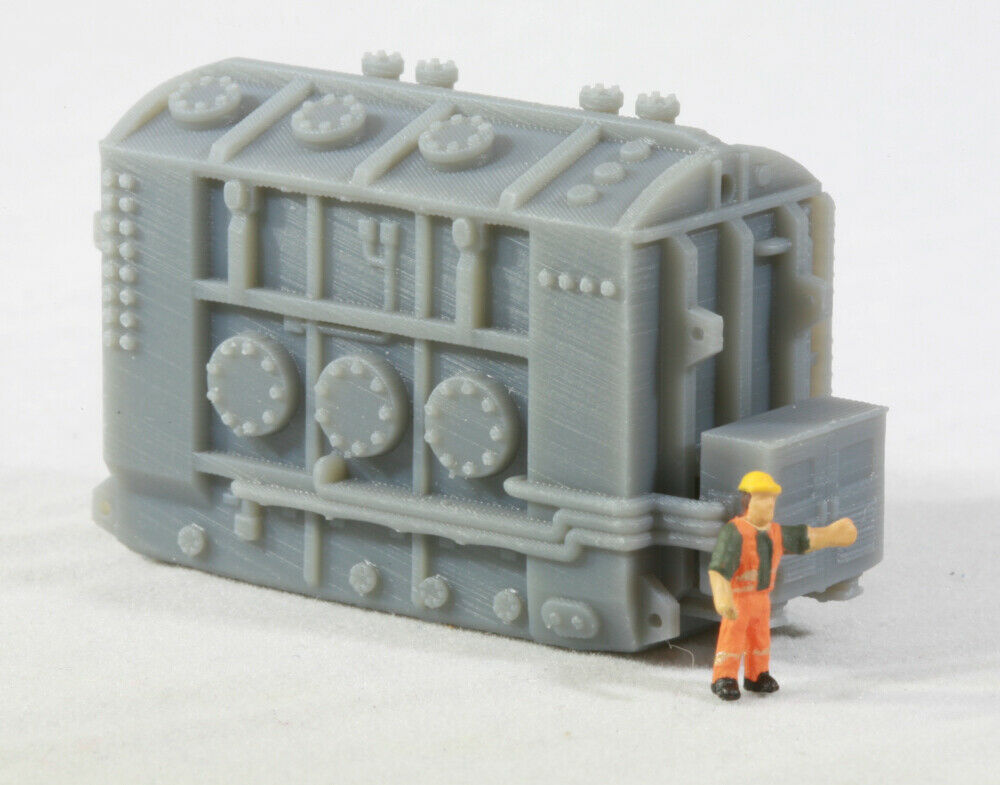 N Scale High Voltage Transformer Base