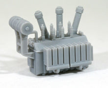 Load image into Gallery viewer, Z Scale 138kV High Voltage Power Transformer Model Railroad Oil Cooled