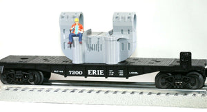 O Scale Bethlehem Steel Double-Bearing Casting Railroad Flatcar Load GREY color