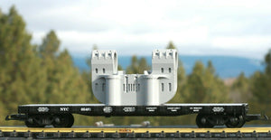 G Scale Double-Bearing Steel Casting Railroad Flatcar Load