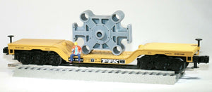 O Scale Cast Forging Press Ram Beam Model Railroad Flatcar Load