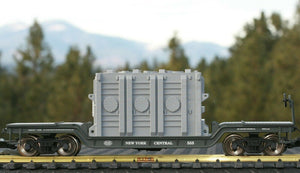 "G Scale High Voltage Transformer Base ""Atchison"" for Model Railroad"