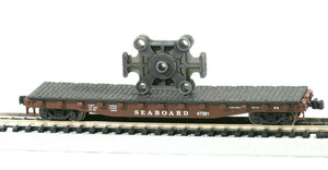 N Scale Cast Forging Press Ram Beam Model Railroad Flatcar Load