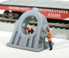 Load image into Gallery viewer, HO Scale Cast Angled Bearing Model Railroad Flatcar Load