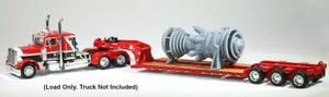 S Scale 1:64 Industrial Gas Turbine Model Railroad Electric Plant DCP Truck load