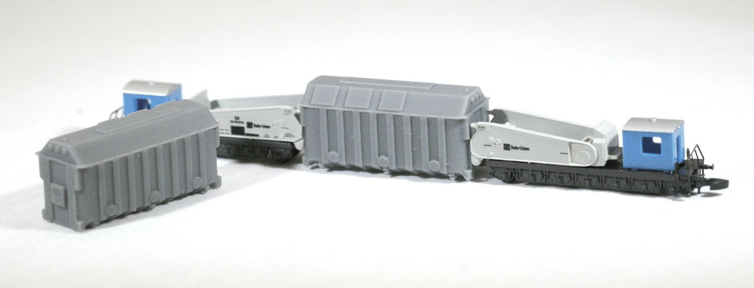 Z Scale Pair of Replacement / Alternate Load for Marklin Transformer Car 8620