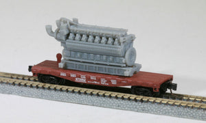 Z Scale 5000HP 16 Cylinder Industrial Lean-Burn Natural Gas Engine Model