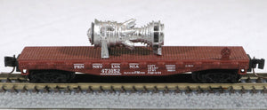 Z Scale 15MW Industrial Gas Turbine Model Railroad METALLIC color