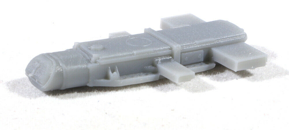 S Scale 1:64 GRS Model 5A Model Railroad Switch Motor Models 3-Pack GREY