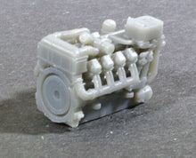 Load image into Gallery viewer, N Scale 1380HP V8 Diesel Turbocharged Aftercooled Industrial Engine Model GREY
