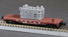 Load image into Gallery viewer, Z Scale United Engineering 8in Upsetter Forge Casting Base Model Flatcar Load