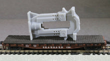 Load image into Gallery viewer, N Scale United Engineering & Foundry Company Rolling Mill Stand Flatcar Load