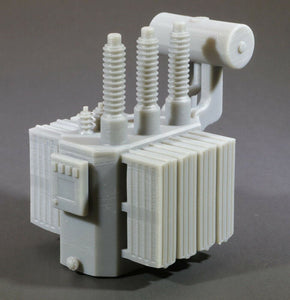 S 1:64 Scale High Voltage Oil Filled Power Transformer Model [High Panel] DCP
