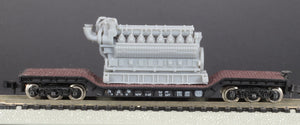 N Scale 5000HP 16 Cylinder Industrial Lean-Burn Natural Gas Engine Model