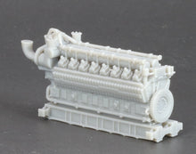 Load image into Gallery viewer, N Scale 5000HP 16 Cylinder Industrial Lean-Burn Natural Gas Engine Model