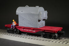 Load image into Gallery viewer, O Scale Kewanee Type C Industrial Fire Tube Boiler Flatcar Load