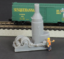 Load image into Gallery viewer, N Scale Willamette Iron & Steel Works Steam Donkey Logging Engine