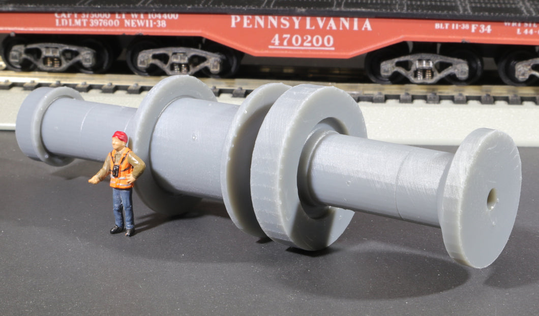 HO Scale 100 ton Bethlehem Steel Hydroelectric Turbine Rotor Shaft