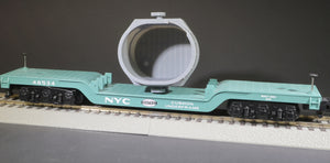 S Scale Massive Bethlehem Steel Ladle Railroad Flatcar Well car Load